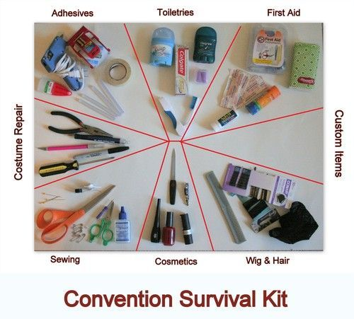 Making a Con Survival Kit