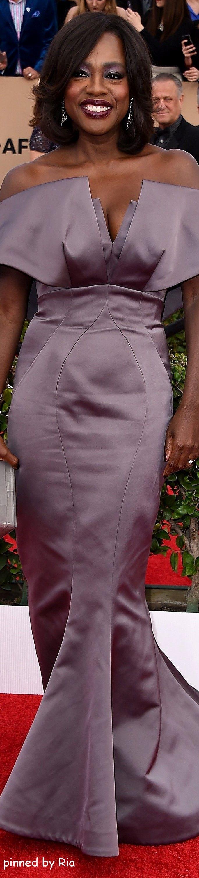 Viola Davis l Sag Awards 2016 l Ria