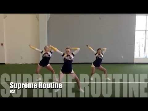 FCA Cheerleading Tryout Material 2015 - YouTube                                                                                                                                                                                 More