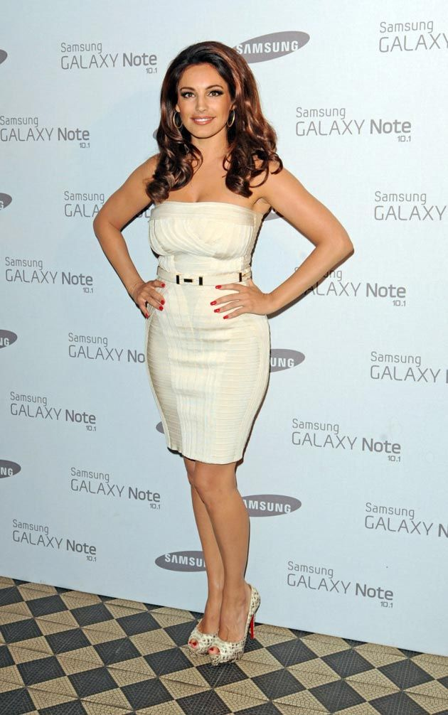 Kelly Brook Samsung Galaxy Note Launch Party London 2012
