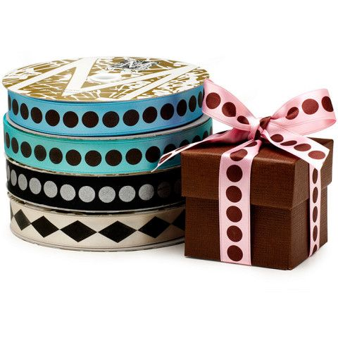 Midori Satin Dots Ribbon at The Knot Wedding Shop