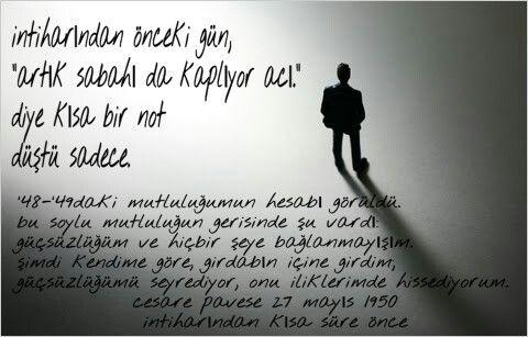 #edebiyat #intihar #yalnızlık #pavese