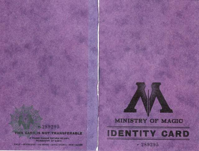 identity card ministerio de magia                                                                                                                                                                                 Más