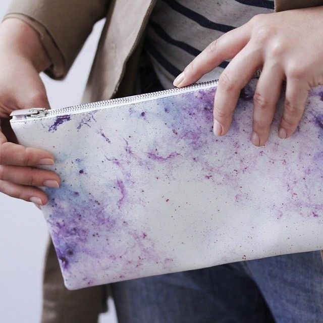 Introducing Ecstasy Limited99: Eruptions of vision of stars and dust in infinite space. The achievement of another state beyond the perception of our bodies on the small #clutch bag. A limited editon of small and large bags with 99 pieces each! #Redream #limited #Ecstasy