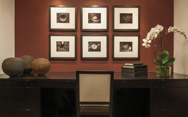 Интерьер пентхауса в Вашингтоне отделан в стиле модерн.