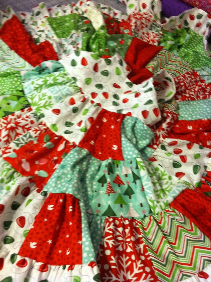 Christmas 3 tier patchwork