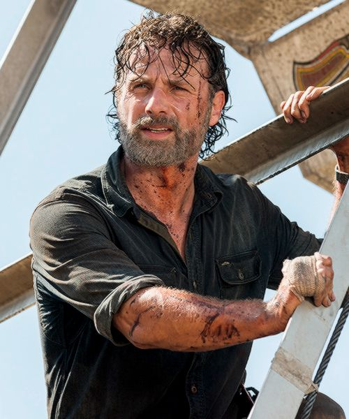 """ Rick Grimes in The Walking Dead Season 7 Episode 12 