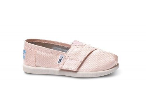 Petal Grosgrain Tiny TOMS Classics | TOMS.com #toms flower girl shoes