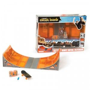 The Tony Hawk Circuit Boards Halfpipe set lets kids build their own skatepark.