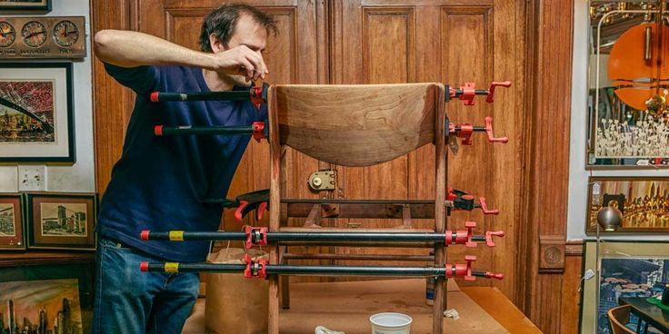 How to Restore Furniture #BestWoodworkingRespirator