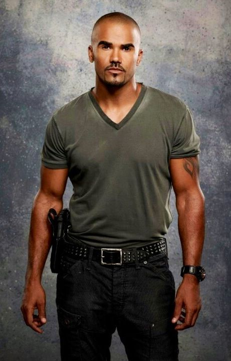 Shemar Moore as Derek Morgan Criminal Minds