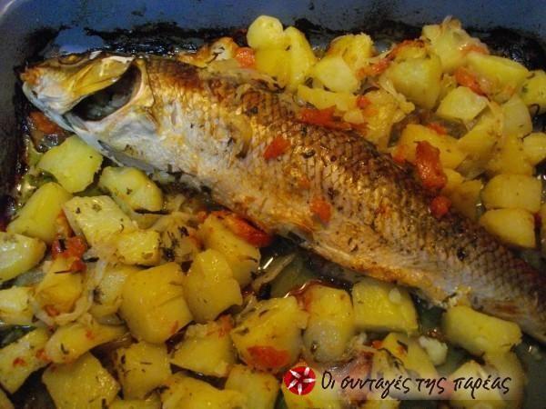 Fish plaki #cooklikegreeks #fish #seafood #vegetables