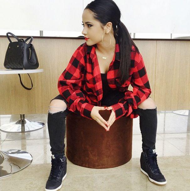 becky g photoshoot 2015 | Becky G w męskiej koszulki! Ubranie Austina Mahone! (NOWE ZDJĘCIA ...