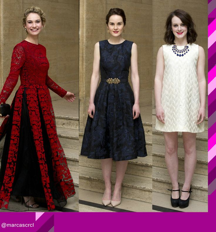 Mujeres de Downton Abbey // Women of Downton Abbey