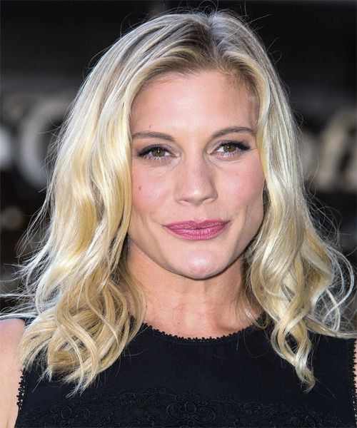 Katee Sackhoff Hairstyle - Casual Medium Wavy