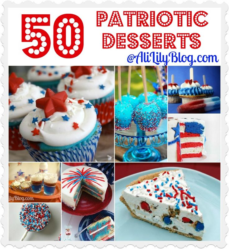 50 Desserts for 4th of July