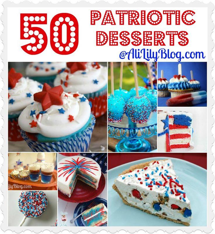 50 Patriotic Desserts You Gotta Try!!
