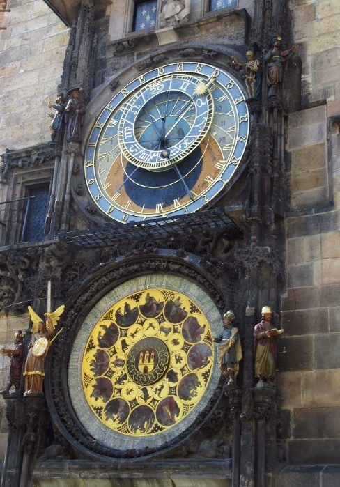Astronomical Clock 24 Hours In Prague