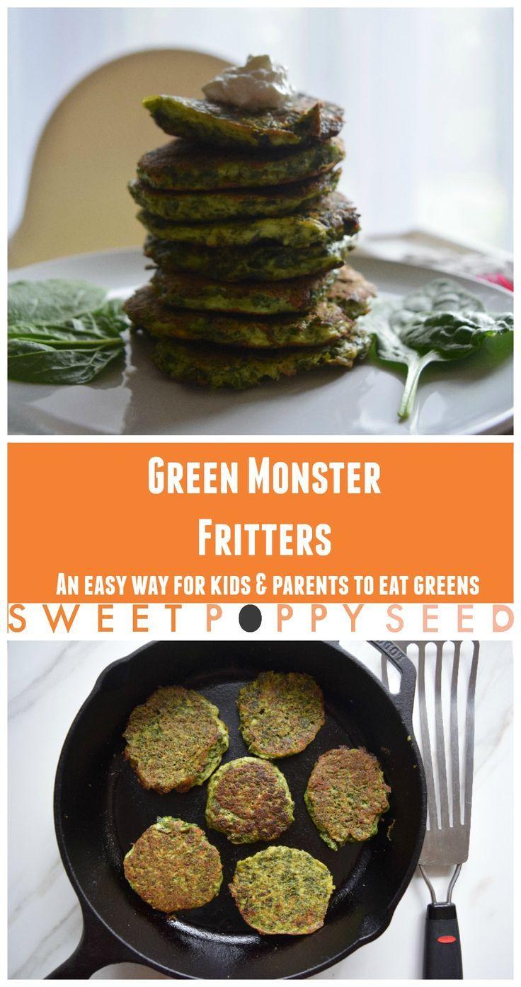 My favorite super easy way to eat dark leafy greens! Plus kids love it too!