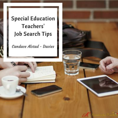 If you are searching for a new education position, take the time to prepare by being proactive. These special education teachers' job search tips will help to decide if you ready to embark on your job hunt.