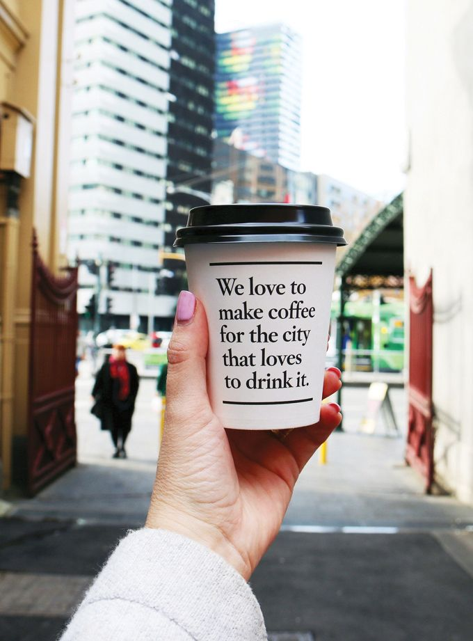 Melbourne Coffee - We love it!