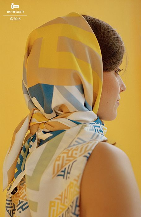 noorsaab | Lookbook 09 | Gibran luxury silk scarf