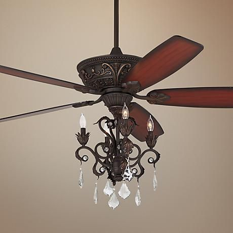 60 Quot Casa Montego 174 Bronze Chandelier Ceiling Fan Ceiling