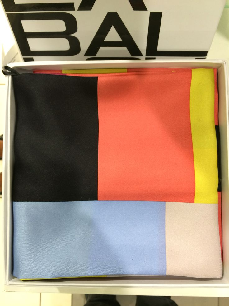 Squares in a box - new arrival aw16 silk scarf