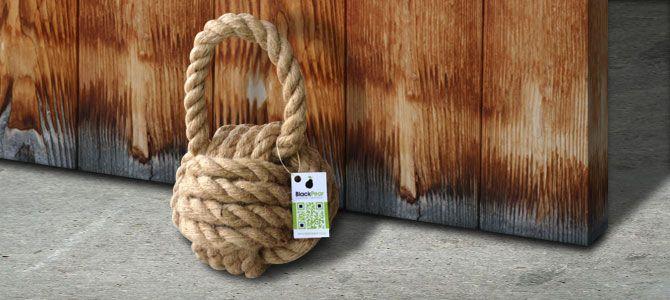 Nautical Rope Door Stop