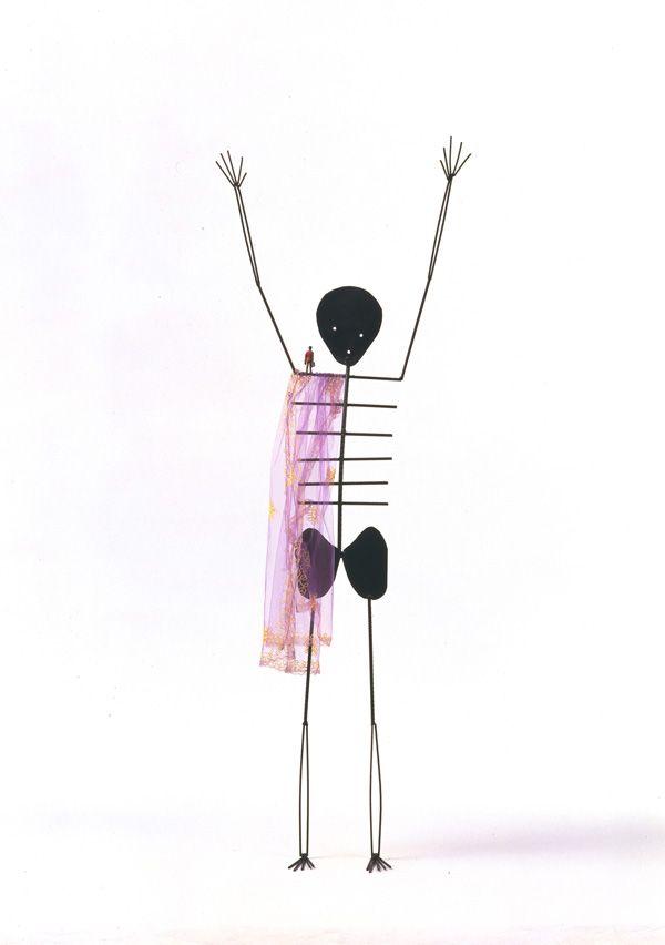 Henk Visch - I see, I understand, I know, I remember, I do (1991), 250 cm   henkvisch.nl