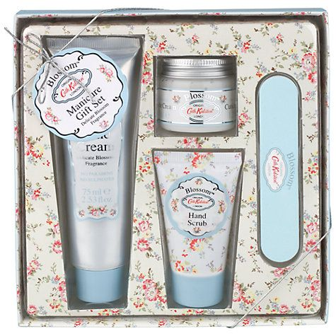 Buy Cath Kidston Blossom Manicure Set Online at johnlewis.com