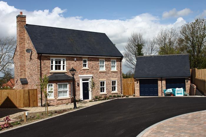 Residential development of five detached houses in Cambridgeshire