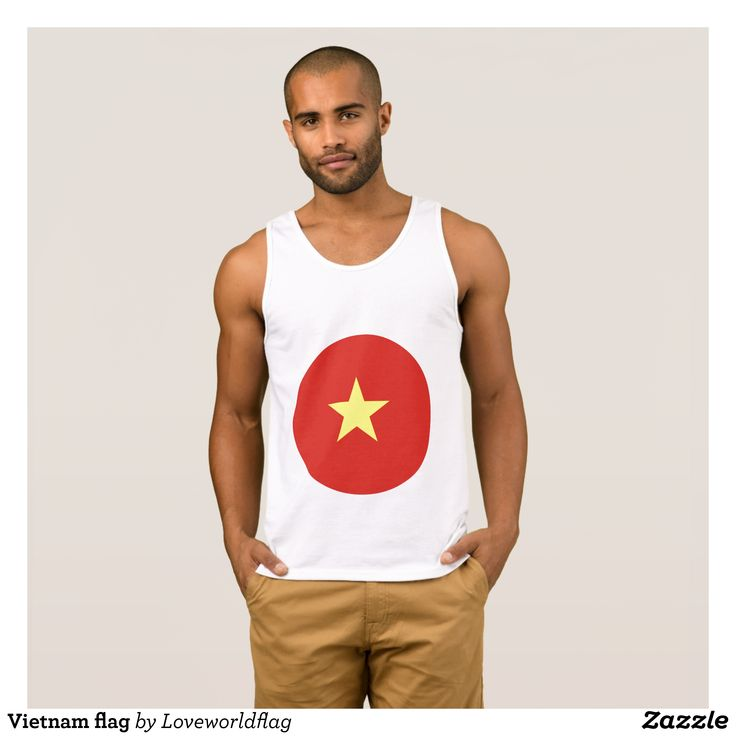 Vietnam flag tank top - Comfy Moisture-Wicking Sport Tank Tops By Talented Fashion & Graphic Designers - #tanktops #gym #exercise #workout #mensfashion #apparel #shopping #bargain #sale #outfit #stylish #cool #graphicdesign #trendy #fashion #design #fashiondesign #designer #fashiondesigner #style