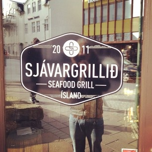 beautiful Icelandic typography
