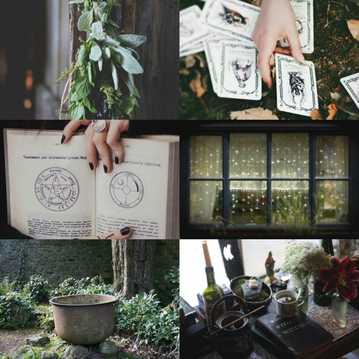 """witchcraft + magic aesthetic (inspiration from witches of east end). """