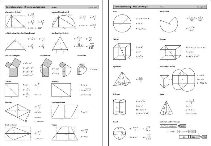die besten 25 geometrie formeln ideen auf pinterest mathematikformeln algebra und. Black Bedroom Furniture Sets. Home Design Ideas