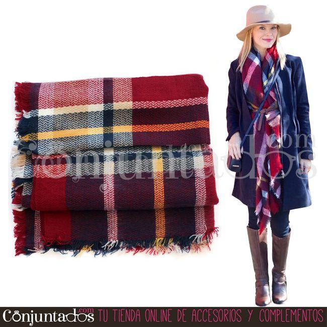 #WinterIsComing -> Gran surtido de bufandas grandes ideales ★ 12,95 € en https://www.conjuntados.com/es/fulares/bufandas.html ★ #novedades #foulard #fulares #bufanda #bufandamanta #conjuntados #conjuntada #accesorios #complementos #moda #fashion #fashionadicct #picoftheday #outfit #estilo #style #GustosParaTodas #ParaTodosLosGustos #fríopolar #quépelete