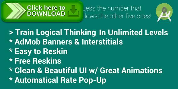 [ThemeForest]Free nulled download Riddles - Game with AdMob (Banners & Interstitials) from http://zippyfile.download/f.php?id=52703 Tags: ecommerce, admob, android, banner, game, interstitial, numbers, rate, riddle