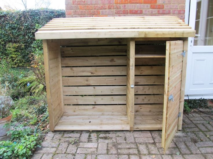 How To Assemble A Forest Log And Tool Store - GardenSite.co.uk