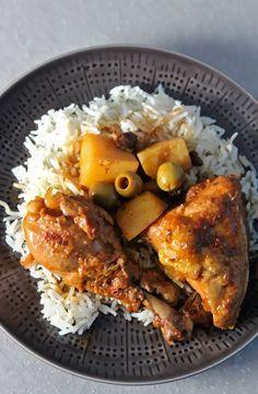 How to make: Cuban style chicken stew (fricasé de pollo)  food NBC Latino News