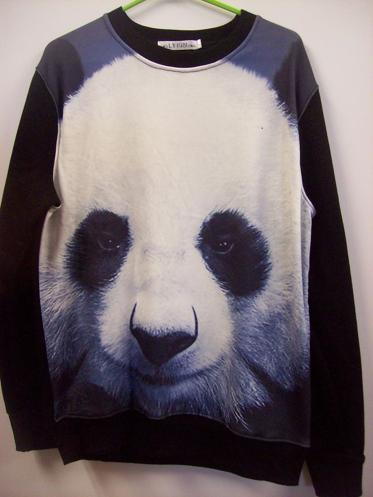 Panda windcheater $34.95 available in small, medium, large and extra-large  at www.scotttshirts.com.au