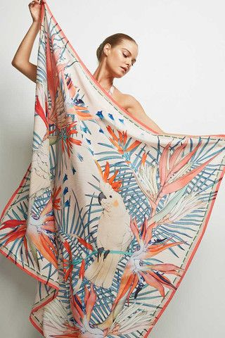 ★ ☽ FORGET ME NOT ☾ ★ Studio print - SEILENNA Ashley Sarong Cover Up | Day|
