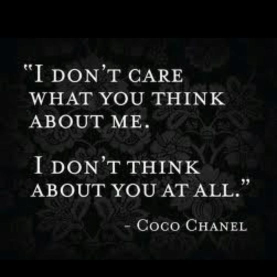 Coco Chanel quote what a great woman