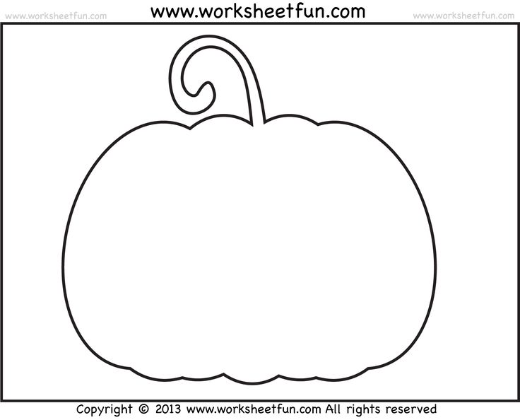 The 25+ Best Pumpkin Template Printable Ideas On Pinterest