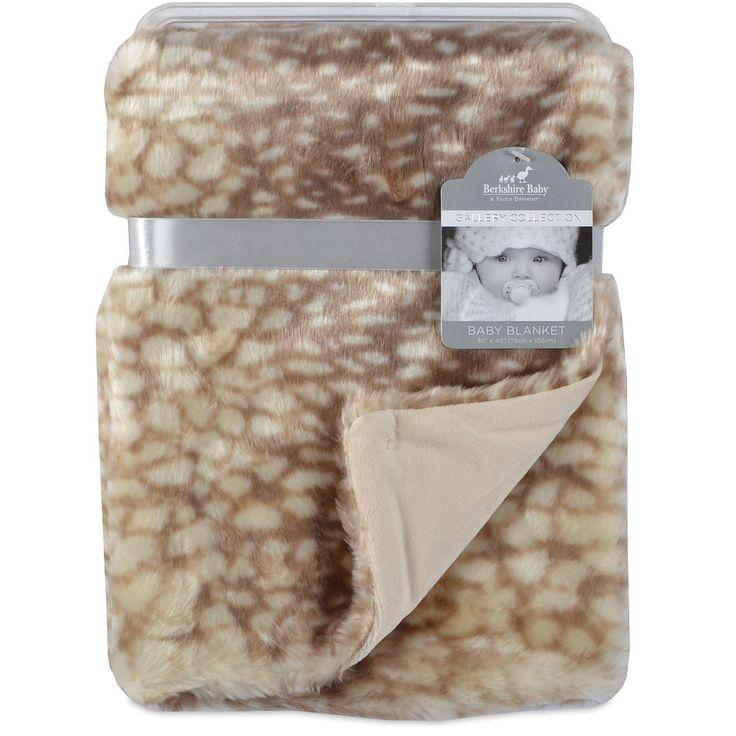 Berkshire Baby Gallery Collection Baby Doe Velvet Plush Baby Blanket