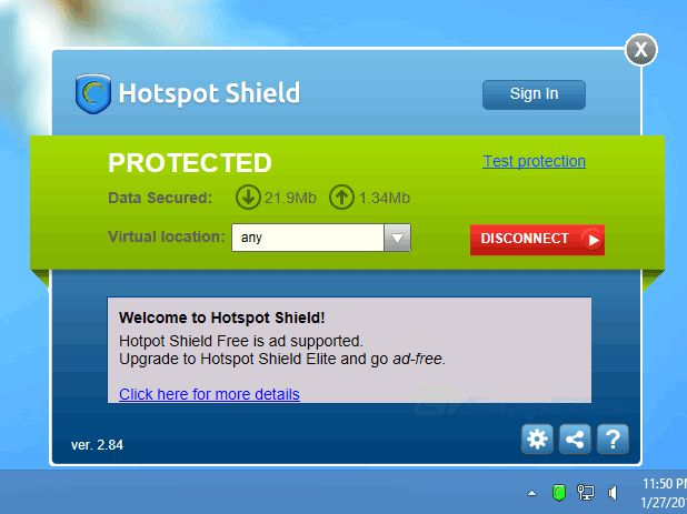 Hotspot Shield Software Images