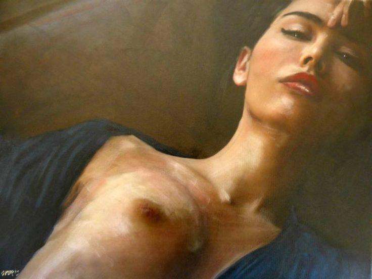 "Saatchi Art Artist William Oxer; Painting, ""Forgiveness"" #art"