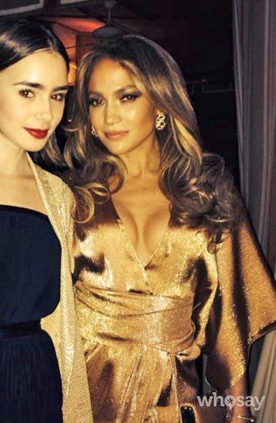 Jennifer Lopez nose Gucci prelijete Peach kimono haljina