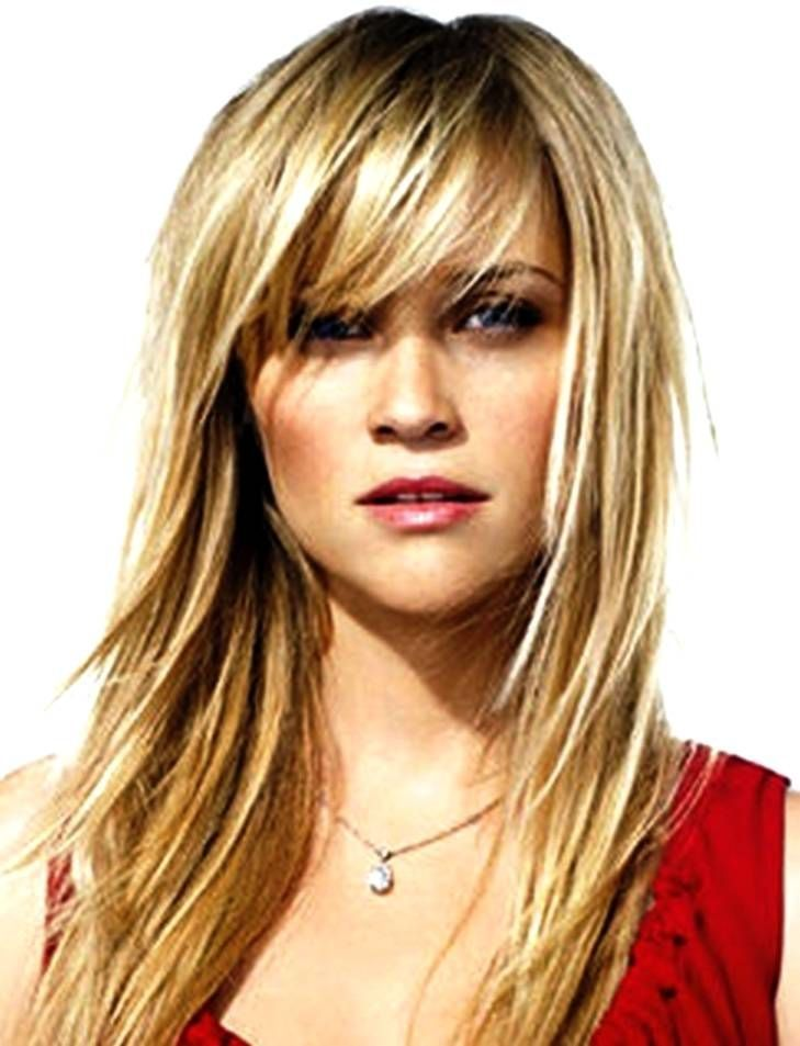 26 Ideas Hairstyles Round Face Small Forehead Haircuts For Long Hair With Layers Hair Styles Medium Hair Styles
