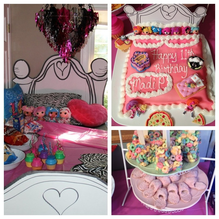 Spa Slumber Party Cake Ideas 3966 Www Cakechooser Com 800